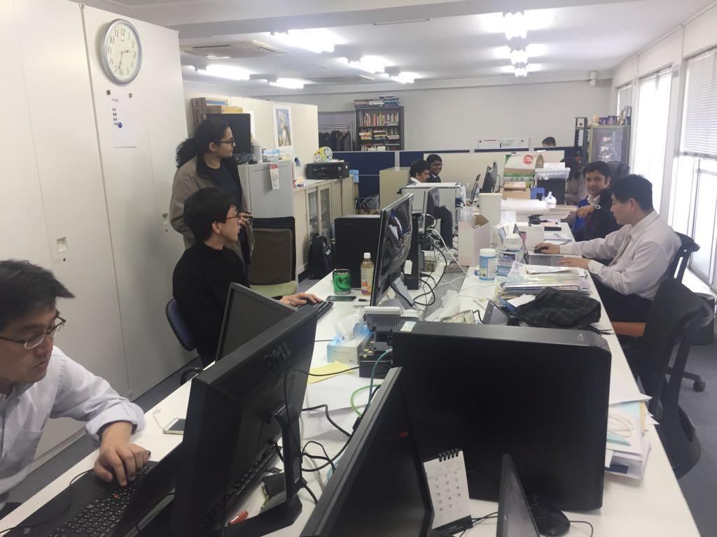 Office in Japan