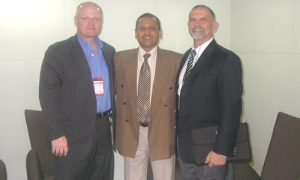 Fidel VP, Mandar Inamdar (at center) with Michael and Hans at Localization and Translation Thailand
