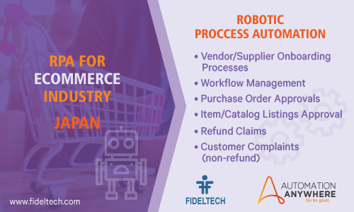 Robotic Process Automation (rpa) Solution for eCommerce Companies, Japan