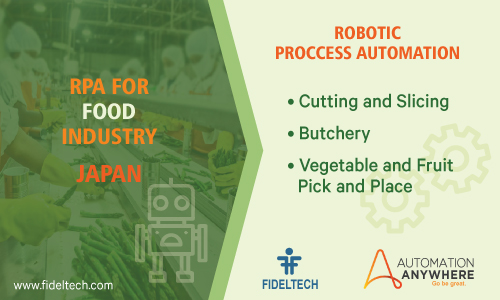 Robotic Process Automation (rpa) Solution for Food Companies, Japan