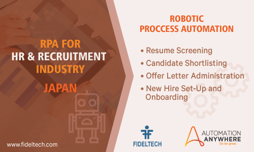 Robotic Process Automation (rpa) Solution for Human Resources Companies, Japan