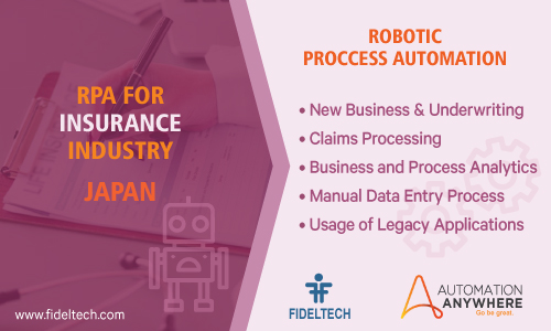 Robotic Process Automation (rpa) Solution for Insurance Companies, Japan