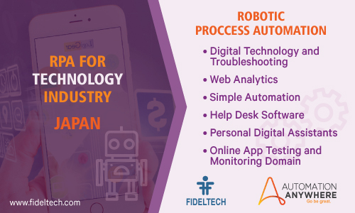 Robotic Process Automation (rpa) Solution for Technology Companies, Japan